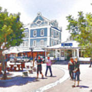 V And A Waterfront Cape Town Poster by Jan Hattingh