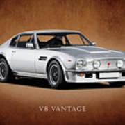 V8 Vantage Poster