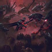 Vader Vs Aliens 1 Poster