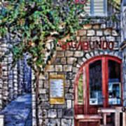 Vagabundo Corfu Poster