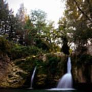 Val Rea Waterfalls Poster
