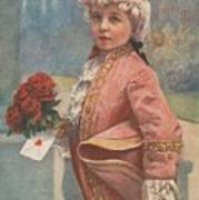 Valentine In The Victorian Era Poster