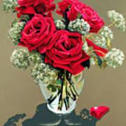 Valentine Roses Poster