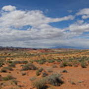 Valley Of Fire Horizon Poster
