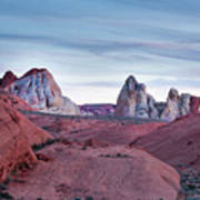 Valley Of Fire Sunset Poster
