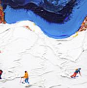 North Face Valluga Poster