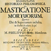 Vampire Book, 1679 Poster