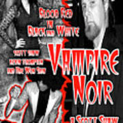 Vampire Noir Poster by The Scott Shaw Poster Gallery