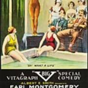 Vamps And Variety 1919 Poster