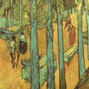 Van Gogh: Alyscamps, 1888 Poster