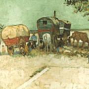 Van Gogh: Gypsies, 1888 Poster