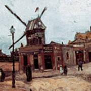 Van Gogh: La Moulin, 1886 Poster