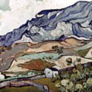 Van Gogh: Landscape, 1890 Poster