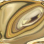 Van Gogh Left His Mark Poster