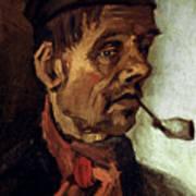 Van Gogh: Peasant, 1884 Poster