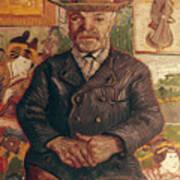 Van Gogh: Pere Tanguy, 1887 Poster