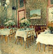 Van Gogh: Restaurant, 1887 Poster