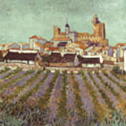 Van Gogh: Saintes-maries Poster