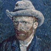 Van Gogh: Self-portrait Poster