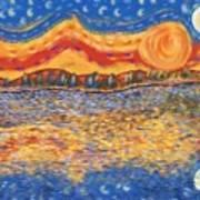 Van Gogh Skies Poster