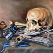 Vanitas After Pieter Claesz Poster