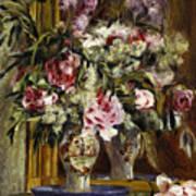 Vase Of Flowers, 1871  Poster