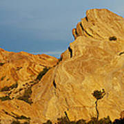 Vasquez Rocks State Park, Sunset Poster