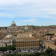 Vatican In Spring Poster