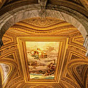 Vatican Museum Painted Ceiling Poster