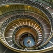 Vatican Staircase Poster
