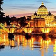 Vatican's St. Peter's Poster