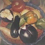 Vegetables Still Life Poster