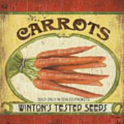 Veggie Seed Pack 4 Poster by Debbie DeWitt
