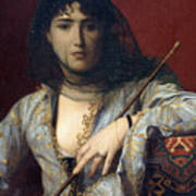 Veiled Circassian Lady Poster