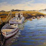 Veldrift Boats Poster by Yvonne Ankerman