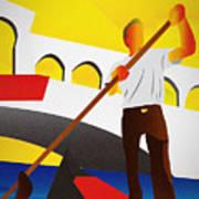 Venecia Art Deco Poster