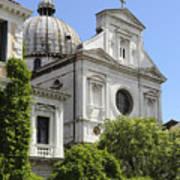 Venetian Church Poster