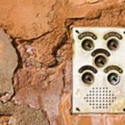 Venetian Door Bell Poster