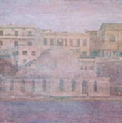 Venetian Harbour, Chania Poster