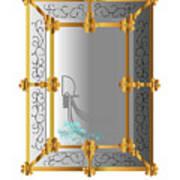 Venetian Mirror Poster