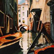 Venice - Gondola Ride Poster