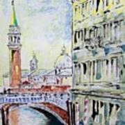 Venice 7-2-15 Poster by Vladimir Kezerashvili