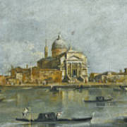Venice. A View Of The Church Of San Giorgio Maggiore Poster
