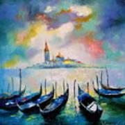 Venice Before The Rain Poster