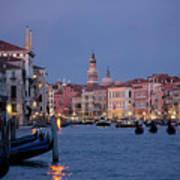 Venice Blue Hour 2 Poster
