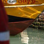 Venice Boat Closeup Poster