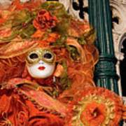 Venice Carnival Mask Italy Poster