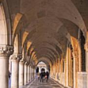 Venice - Doge's Palace Arcade Poster