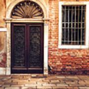 Venice Door Poster