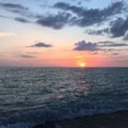Venice Florida Sunset Poster